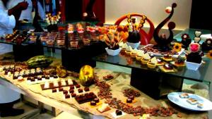 Chocolate selection by Morde chocolates..