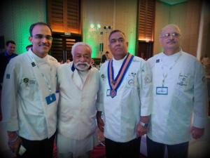 Chef Sudhir Pai, Chef Imtiaz Qureshi, Chef Vernon Coelho, Chef Gev Desai