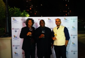 Antoine Lewis,Thami Msimango and yours truly (L to R)