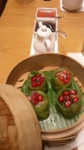 Crafty veggie and chive dumplings