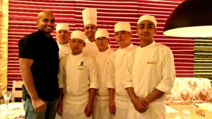 With Chef Sidney Dcunha and team