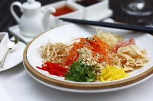Yu Sheng ...toss to prosperity