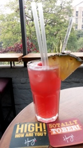 Singapore Sling...check the coasters