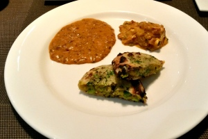 Dal, Paneer Lababdar and Kulcha