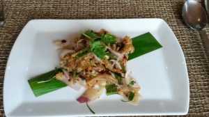 Crispy Sticky  Rice Salad
