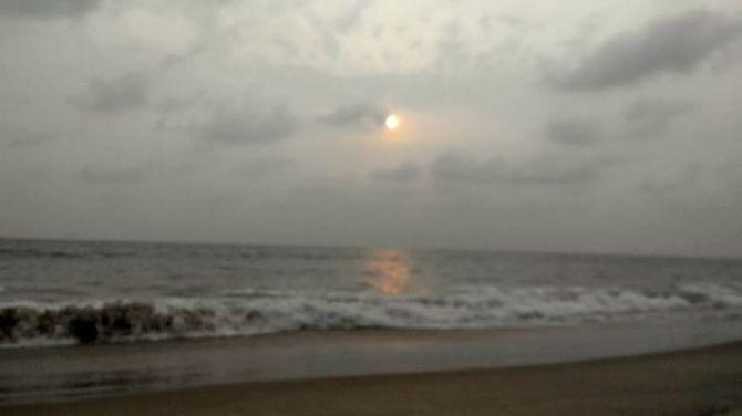 Kagal Beach in Kumta.... Untresspassed hence tranquil