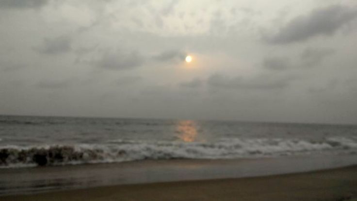 Kagal Beach in Kumta.... Untresspassed hence tranquil