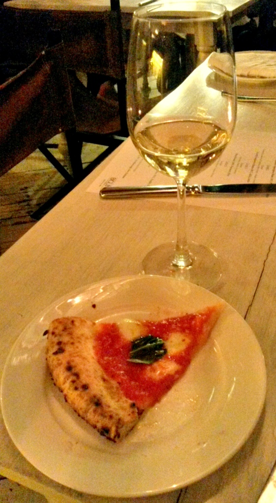 South African Sauvignon Blanc with Pizza Margharita