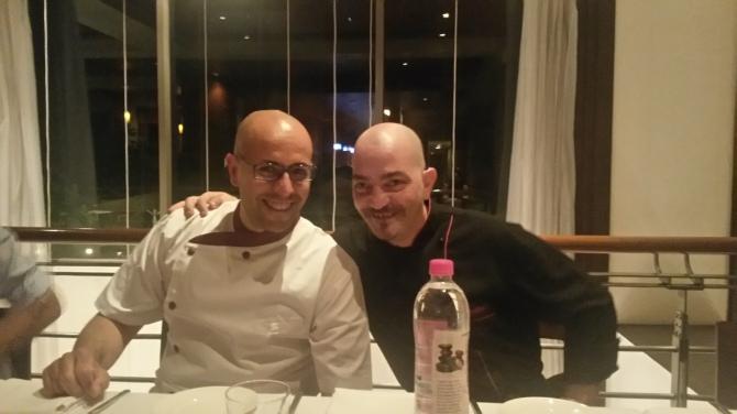 Pasqualino (L) and  Davide Canazi of Mezzo Mezzo