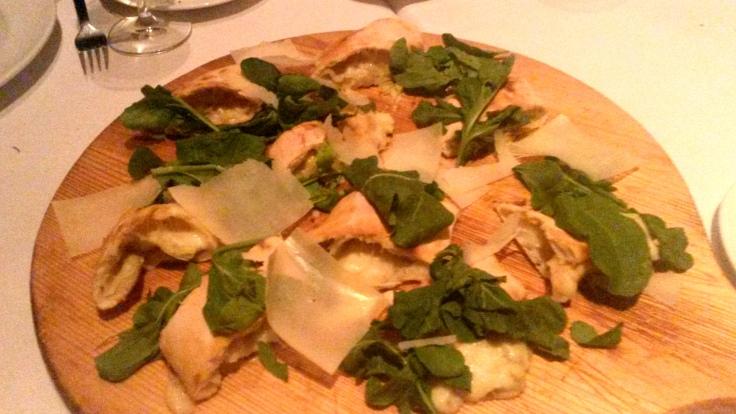Stuffed Artichoke Pizza
