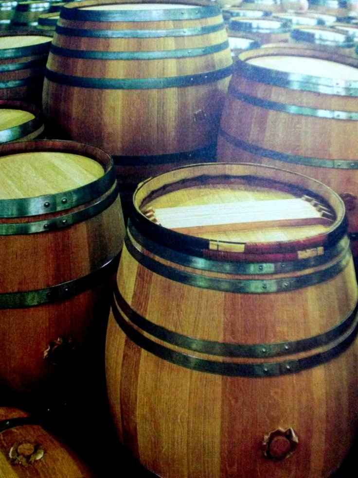 Barrel in process....