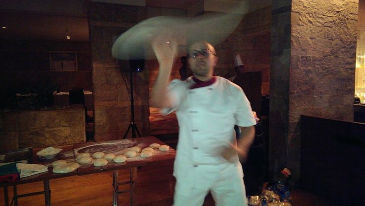 Pasqualino Barbasso in action