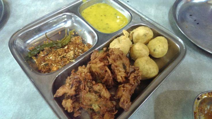 Avoid the Methii Bhajis, the kanda bhajis are good