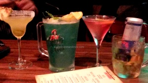 Cocktails at the Irish House