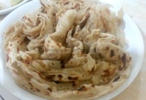 Whole wheat Kerala Parotha