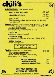 Chili's Grill & Bar The Original Circa 1975_Menu