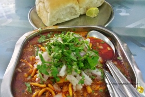 Puneri Misal at Vinay Health Home Girgaon