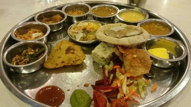 Marwari Rajasthani Thali Mumbai