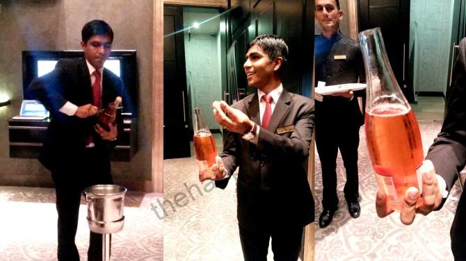 Champagne Sabrage India