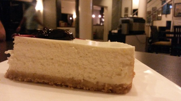 Baked Cheese cake, The Fat Chef Bengaluru