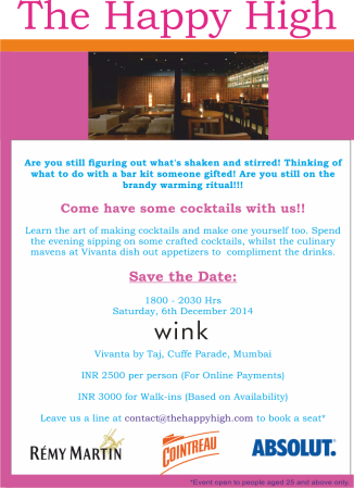 Cocktail Workshop In Mumbai