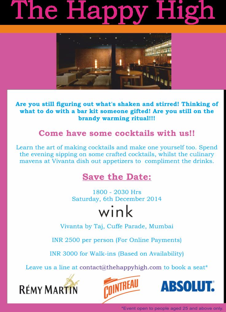 Cocktail Workshop In Mumbai