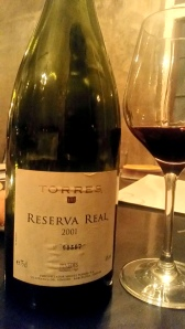 Reserva Real 2001 Torres Wines