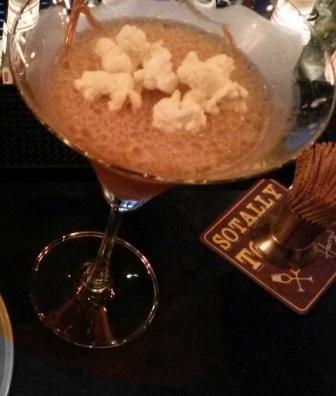Caramel Popcorn Martini