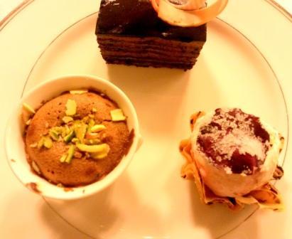 Desserts Riwaz  Ritz Carlton