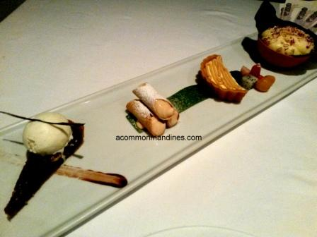 Indian Accent Chefs Menu dessert