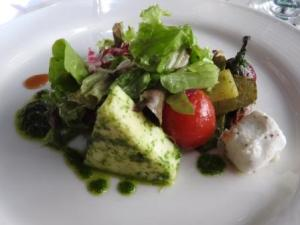 Sheep Cheese Salad