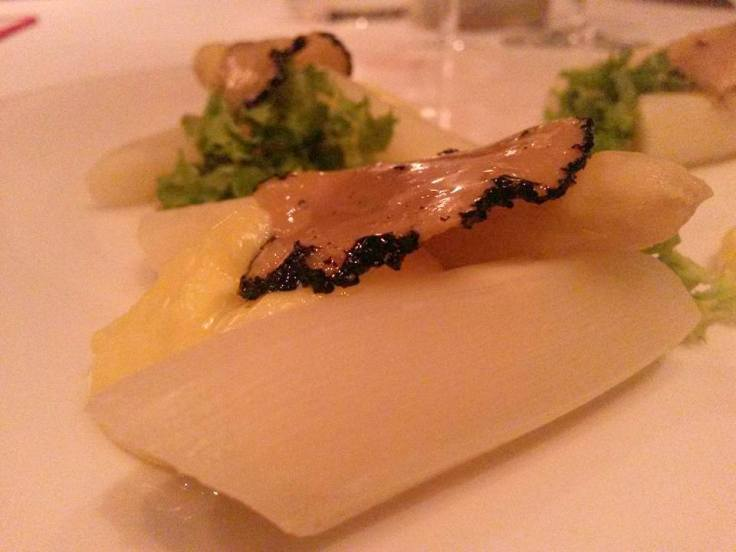 White Asparagus and Hollandaise