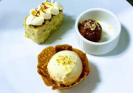 Desserts at Paasha Pune