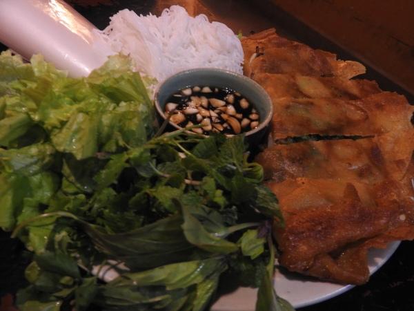 Ban XEO or vietnam pan cake