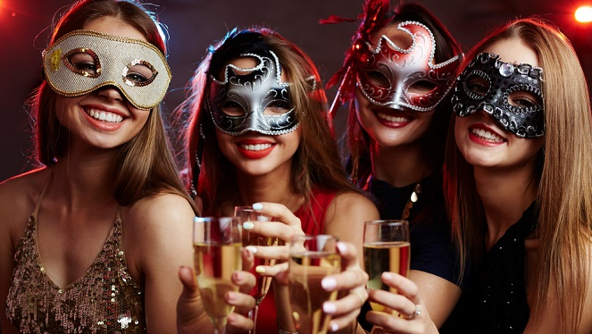 Masquerade Year End Party Renaissance Mumbai